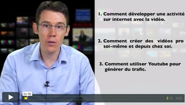 video pour le web