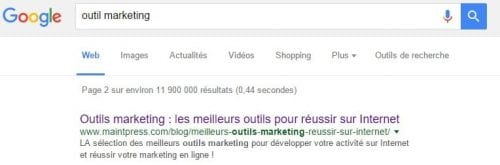 outils marketing
