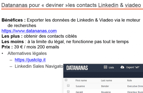 datananas et marketing