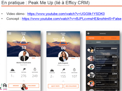 peak me up crm gamification