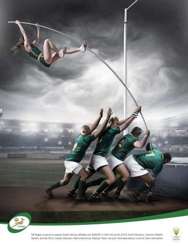 Les publicités les plus originales et créatives sur les Jeux ! 11