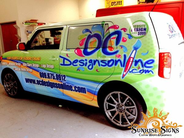 Ocdesignsonline car wraps resized 600 conseilsmarketingcom for Ocdesignsonline