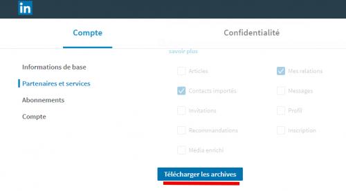 Tutoriel Mailchimp : Comment exporter ses contacts de Linkedin vers Mailchimp ! 7