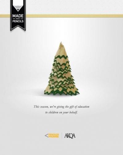 Les 120 publicités sur Noël plus belles et les plus créatives ! 60
