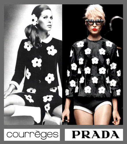 miuccia-prada-is-a-great-copycat-andre-courreges-vogue-paris-1967-prada-ss-2013-art-portrait-satire-fashion-luxury-critic-humor-chic-by-alexsandro-palombo