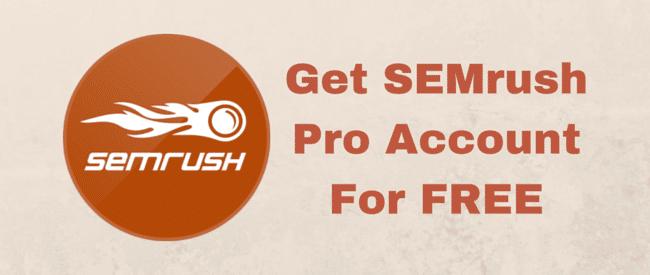 SemRush promo code 1
