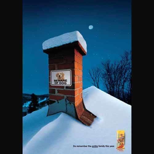 Les 120 publicités sur Noël plus belles et les plus créatives ! 68