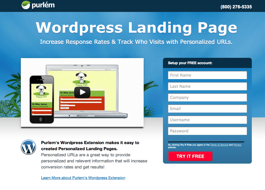 Wordpress Landing Page Templates - Costumepartyrun