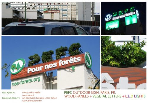 Plus de 100 pubs de Street Marketing créatives à prendre en exemple ! 151