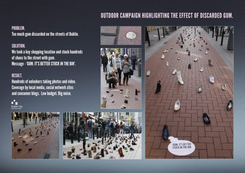 Plus de 100 pubs de Street Marketing créatives à prendre en exemple ! 268