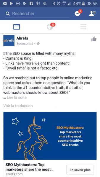 Comment réussir une bonne publicité sur Facebook Ads ? 27