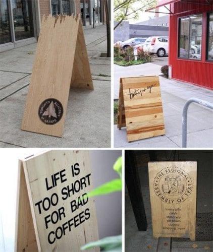Comment attirer plus de clients dans un magasin, une boutique, un restaurant... via l'affichage et la PLV extérieure ? 69