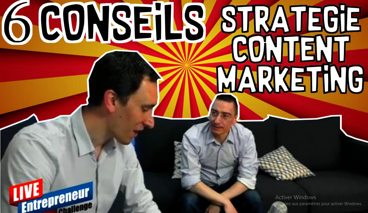 stratégie content marketing