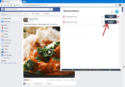 Comment télécharger une vidéo Facebook ? 4