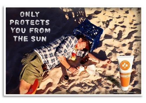 Les publicités les plus créatives sur la Canicule 34