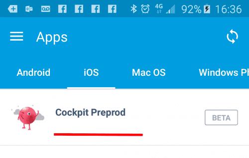 Comment installer une version béta de son App Mobile sur un Smartphone ? 14