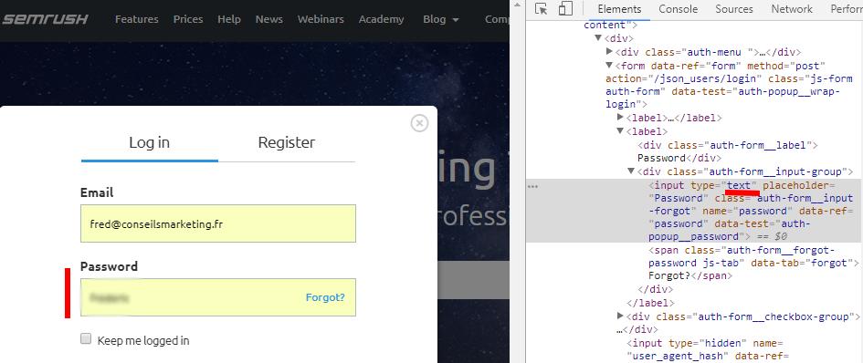 Comment retrouver un mot de passe oublié pour un site internet ? - ConseilsMarketing.com