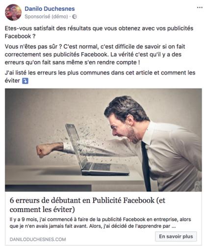 5 étapes pour lancer une publicité Facebook qui convertit. 38
