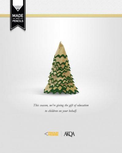 Les 120 publicités sur Noël plus belles et les plus créatives ! 21
