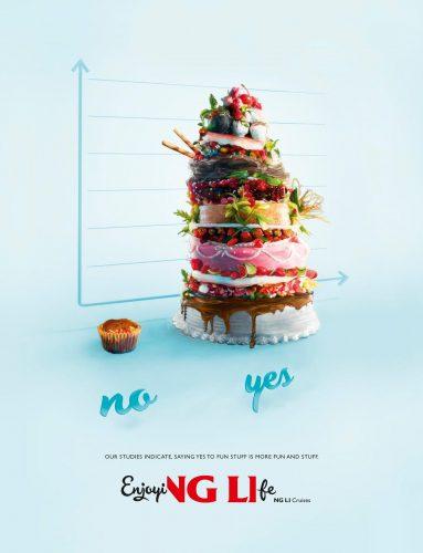 Les publicités les plus créatives sur la Pâtisserie - Spécial #LeMeilleurPâtissier 53