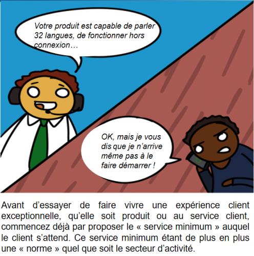 La BD de l'Expérience Client : 73 conseils pour optimiser votre Service Client 47