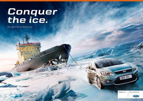 Bon courage aux Parisiens : les 80 publicités les plus créatives sur la Neige #neigeparis 83
