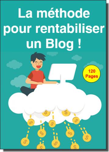 """Je vous offre mon guide """"La méthode pour rentabiliser un Blog !"""" 2"""