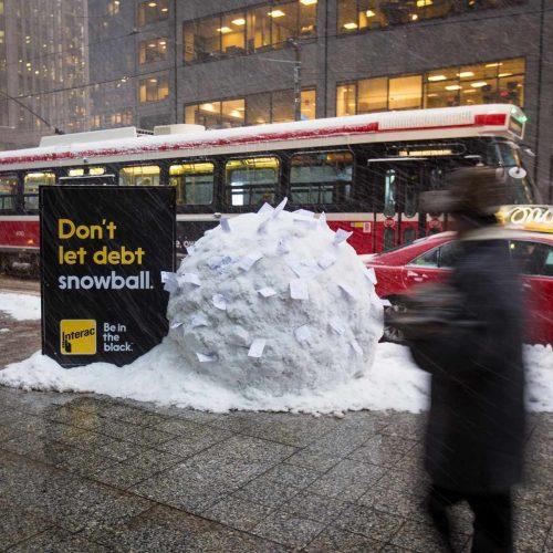 Bon courage aux Parisiens : les 80 publicités les plus créatives sur la Neige #neigeparis 4
