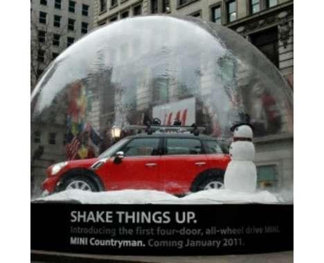 Bon courage aux Parisiens : les 80 publicités les plus créatives sur la Neige #neigeparis 2