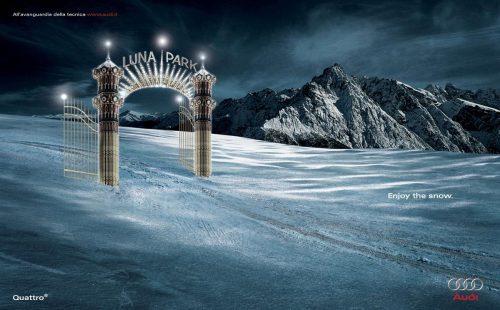 Bon courage aux Parisiens : les 80 publicités les plus créatives sur la Neige #neigeparis 13