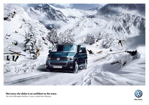Bon courage aux Parisiens : les 80 publicités les plus créatives sur la Neige #neigeparis 75