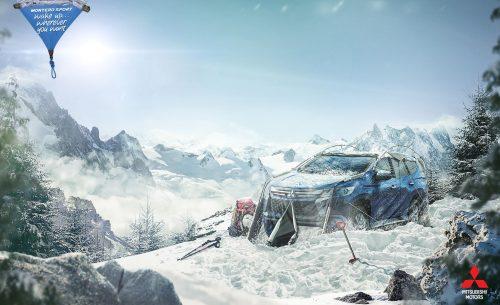 Bon courage aux Parisiens : les 80 publicités les plus créatives sur la Neige #neigeparis 15
