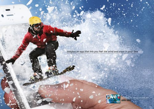 Bon courage aux Parisiens : les 80 publicités les plus créatives sur la Neige #neigeparis 24