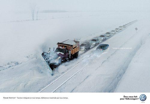 Bon courage aux Parisiens : les 80 publicités les plus créatives sur la Neige #neigeparis 33
