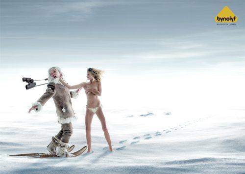 Bon courage aux Parisiens : les 80 publicités les plus créatives sur la Neige #neigeparis 44