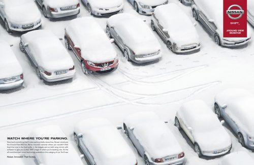 Bon courage aux Parisiens : les 80 publicités les plus créatives sur la Neige #neigeparis 54