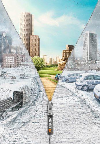 Bon courage aux Parisiens : les 80 publicités les plus créatives sur la Neige #neigeparis 70