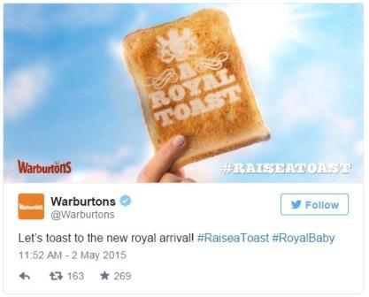 Royal Baby : même les publicitaires en sont fous [40 publicités hyper créatives] #royalbaby 58