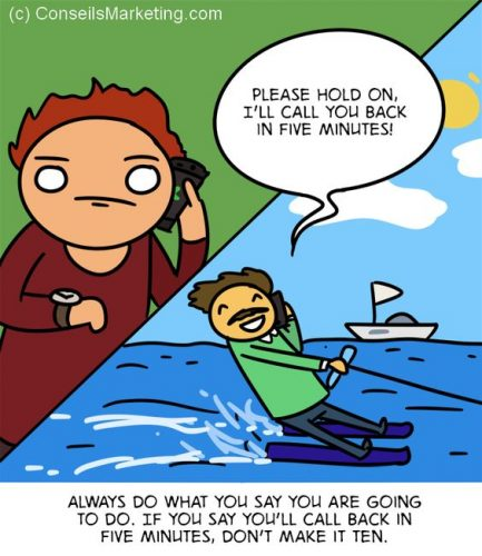 The Customer Experience Cartoon - English version 9