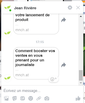 Les erreurs à ne surtout pas faire avec un Chatbot sur Facebook Messenger ! 3