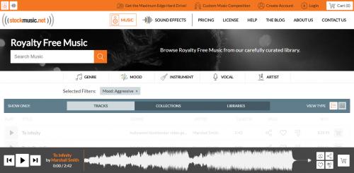 Où trouver des musiques libres de droit pour ses vidéos ? 5 sites avec un large choix à moindre coût ! 4