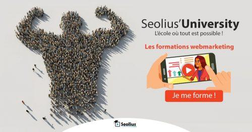 Retrouvez mes cours sur le Marketing à la Seolius University - Formation au Marketing 11
