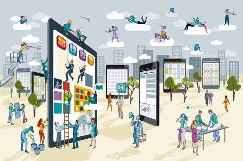 Une autre approche du CRM : La gestion d'équipes en mobilité 3