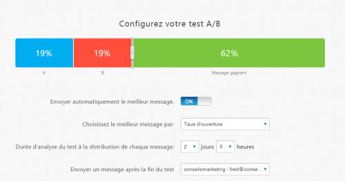 Doublez le taux d'ouverture de vos emails : faites de l'AB testing en 2 minutes chrono ! 19