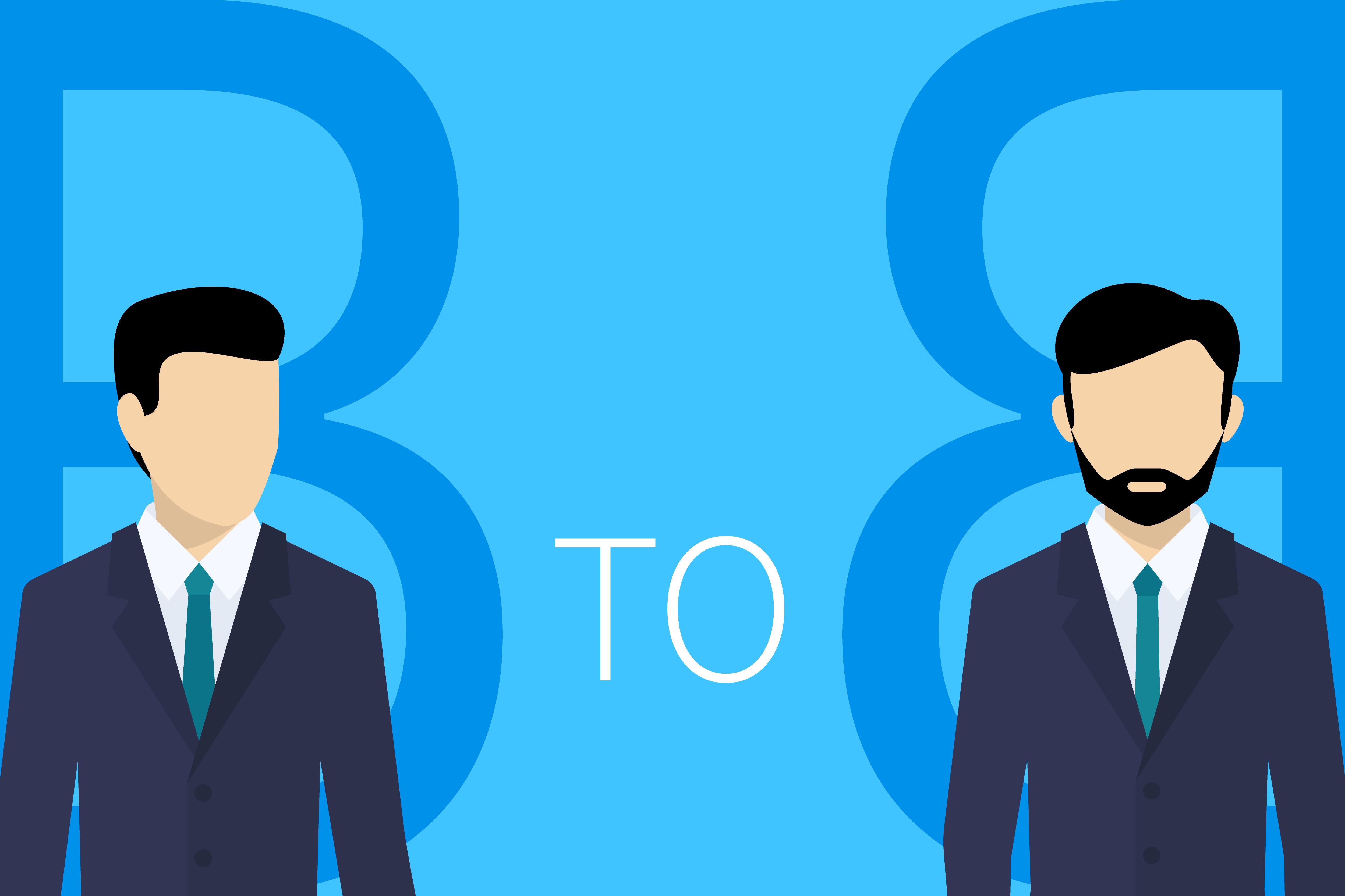 Définition du B2B (interentreprises  - Business to Business - Entreprises à Entreprises) 1