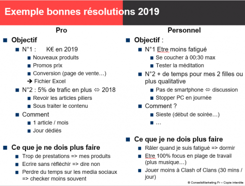 23 bonnes résolutions pour réussir l'année 2020 ! 3