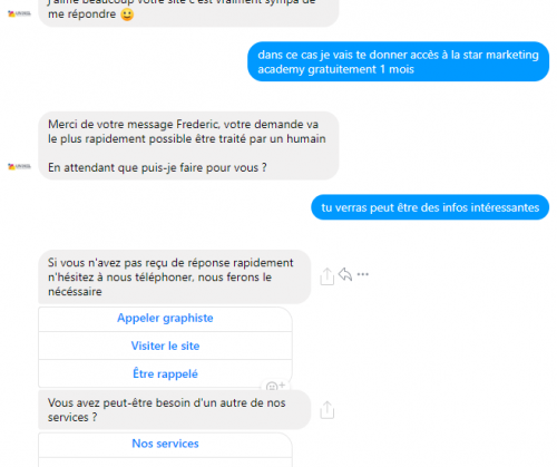 Les erreurs à ne surtout pas faire avec un Chatbot sur Facebook Messenger ! 16