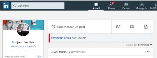 Comment publier un article sur Linkedin Articles ? 5