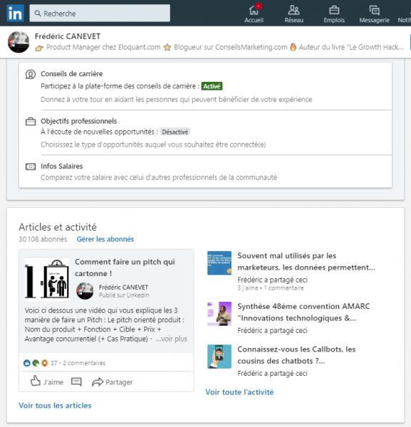 Comment publier un article sur Linkedin Articles ? 3