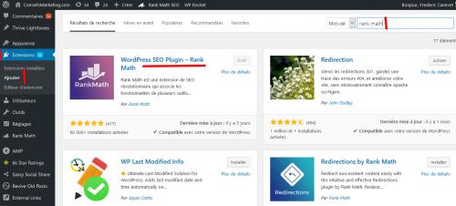 Rank Math SEO, le meilleur plugin pour améliorer le référencement d'un site Wordpress avec 8 étapes pour l'installer ! 20